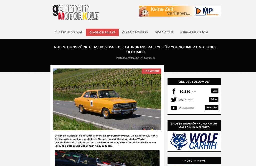 RHC-Rallye 2014