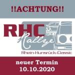 Neuer Termin 6. Rhein-Hunsrück-Classic