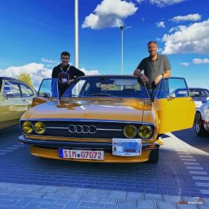 Michael und Ben Peschel von Germanmotorkult