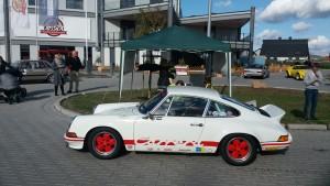 Teilnehmer bei der 6. Rhein-Hunsrück-Classic Oldtimer und Youngtimer Rallye Ausfahrt Porsche 911 Carrera