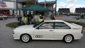 Teilnehmer bei der 6. Rhein-Hunsrück-Classic Oldtimer und Youngtimer Rallye Ausfahrt Audi Urquattro